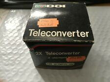 DOI Quality Auto Tele Converter 2x For Canon Near Mint Adapter - Vintage Camera