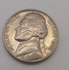 1961-D Jefferson Nickel Bu Uncirculated Coin