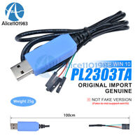 Original PL2303TA//CP2102//CH340G Download Line Compatible WIN10 USB  to TTL RS232