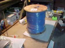 1,000'  Blue, TIMES, RG-59 QUAD Shield 75 Ohm Coaxial Headend Cable **Cheap**