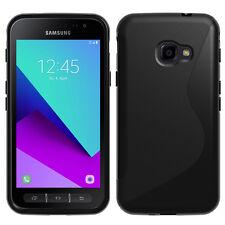 Housse Etui Coque TPU Silicone S-Line NOIR pour Samsung Galaxy Xcover 4 SM-G390F