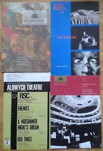 Individual season brochures / guides for theatre, opera, ballet, dance companies