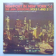 LP/ Various Artists - Newport in New York' 72 the jam sessions - vol 1 & 2 / US