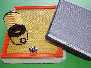 kl. Filterset Filtersatz Inspektionspaket für Opel Astra H 1.7 CDTI (81 & 92kW)