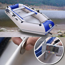2.3m PVC Boat Rubber Boat Inflatables Kayak Fishing Boat with Air Deck