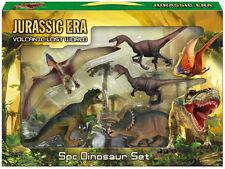 5pc Pieza Dinosaurio Playset Animales De Juguete Figuras de acción conjunto T Rex Jurassic Park