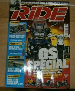 Ride magazine Nov 2021 GS Special Riding Owning &Buying the UK best-selling bike