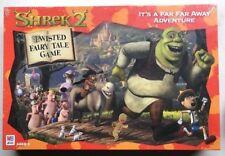 Shrek 2 Twisted Fairy Tale Board Game - Sealed - Donkey Princess Fiona Puss