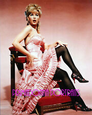 STELLA STEVENS 8x10 Lab Photo 1960s Sexy Stockings and Heels, Actress Portrait