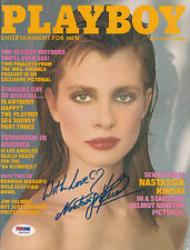 NASTASSJA KINSKI SIGNED AUTO'D PSA/DNA COA MAY 1983 PLAYBOY MAGAZINE CAT PEOPLE
