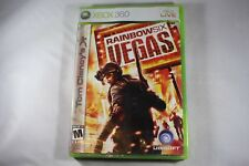 Tom Clancy's Rainbow Six Vegas 1 (Microsoft Xbox 360) NEW Sealed