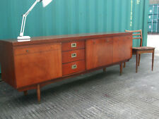 Vintage retro teak era sideboard, Greaves and Thomas, high quality Danish style