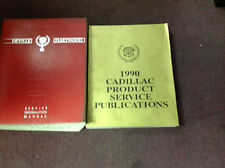 1990 Cadillac DEVILLE FLEETWOOD Service Shop Repair Manual SET W PUBLICATIONS BK