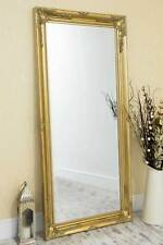 Large Full Length Classic Ornate Styled Gold Mirror 5Ft7 X 2Ft7 170cm X 79cm