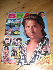 BRAVO 47/1987 KOMPLETT BEE GEES CURE ASTLEY POSTER SABRINA DEPECHE MODE SANDRA