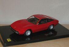 FERRARI 365 GTC-4 1971 RED IXO FER062 1/43 ROUGE ROSSO ITALIA ITLAIE DIE CAST