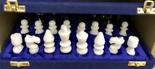 """Handmade Marble Chess Pieces Set 2"""" Plus Free Valentine's Day Gift"""