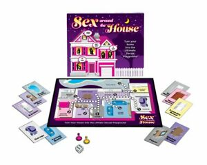 Sex Around the House! Board Game Foreplay Bedroom Games Couples