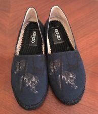 Kenzo espadrilles Gr. 38 Luxus Damen Schuhe Loafer Original