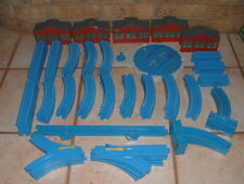 Lot 107 Pieces TOMY Blue Thomas The Train Train Track & Turnaround