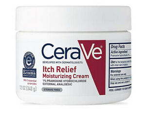CeraVe Moisturizing Cream  Itch Relief 12 Oz Dry Skin Itch Relief Lotion