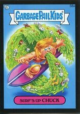 Garbage Pail Kids Mini Cards 2013 Black Parallel Base Card 58a Surf's Up CHUCK