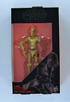 "HASBRO STAR WARS 6"" BLACK SERIES RESISTANCE BASE C-3PO FIGURE"
