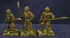 3 Painted Thorn Men, Earthdawn, Heartbreaker, AD&D, D&D, RPG Metal Miniatures