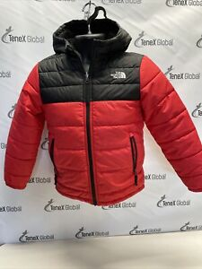 The North Face Kids Boys' Mount Chimborazo Full Zip Red Jacket Hoodie A-9
