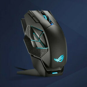 Asus ROG Spatha X Wireless Wired Gaming Mouse with Charging Stand 19K DPI MP