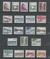 Portuguese Mozambique | 1948-49 | Views of Mozambique Complete | MVLH OG