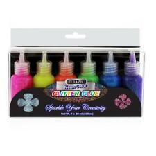 20 ml Neon Color Glitter Glue (6/Pack)