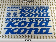 KONA Stickers Decals Bicycles Bikes Cycles Frames Forks Mountain MTB BMX 57SI