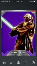 Topps Star Wars Digital Card Trader Purple Cloth Que-Mars Base Variant