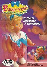 X4132 Passettina va a gattoni - GIG - Pubblicità 1992 - Advertising
