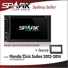 AD GPS DVD SAT NAV IPOD BLUETOOTH USB NAVIGATION FOR HONDA CIVIC SEDAN 2012-2014