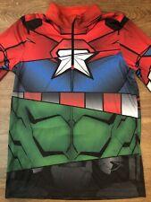 SPYDER Boys Zip T-Neck Shirt Marvel Avengers Size XL/18 NWOT