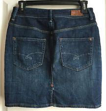 Ruehl No.925 women's premium denim blue jean mini skirt size 26