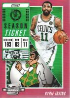 2018-19 Panini Contenders Optic Basketball Red #70 Kyrie Irving