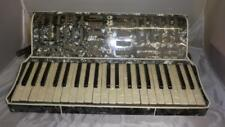 PIETRO PIANO ACCORDION- MUCICAL INSTRAMENT- LEATHER STRAPS