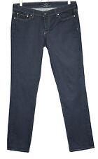 Levis slim Taille 14 Bleu Foncé Indigo Légère Courbe Jeans W32 L32