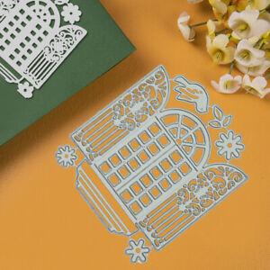 DIY Windows Metal Cutting Dies Stencil Scrapbooking Embossing Card Album Craft