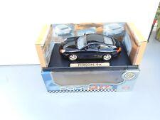 MOTORMAX PORSCHE 911 BLACK 1/18 DIECAST CAR MINT BOX RARE