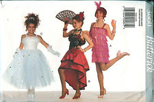 Butterick 3660 Girls Flapper 20s Ballerina Dancer Costume Pattern UNCUT FF 4-14