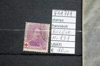 FRANCOBOLLI BELGIO USATI N°131 (F41771)