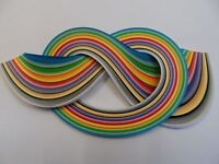 Quilling Paper 5mm , 175 strips -  Assorted colours