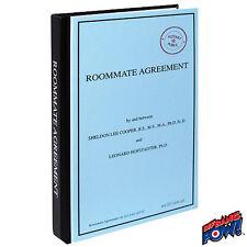 Big Bang Theory Roommate Agreement Journal Bif Bang Pow 016219