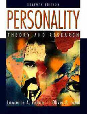 """""""VERY GOOD"""" Personality: Theory and Research (7th Edition), John, Oliver P.,Perv"""