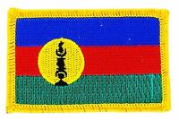 NEW CALEDONIA NEW CALEDONIANS FLAG PATCHES COUNTRY PATCH BADGE IRON EMBROIDERED