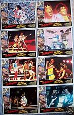 Let's Spend the Night Together Lobby Card Set THE ROLLING STONES Mick Jagger 83